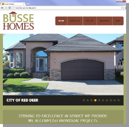 Touch Media Portfolio - Busse Homes